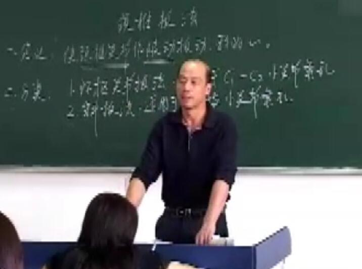 中医推拿颈椎扳法-现场授课