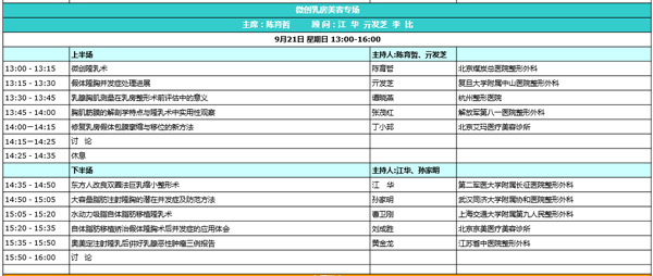 中国整形美容协会第三届微创与皮肤整形美容分会学术年会召开
